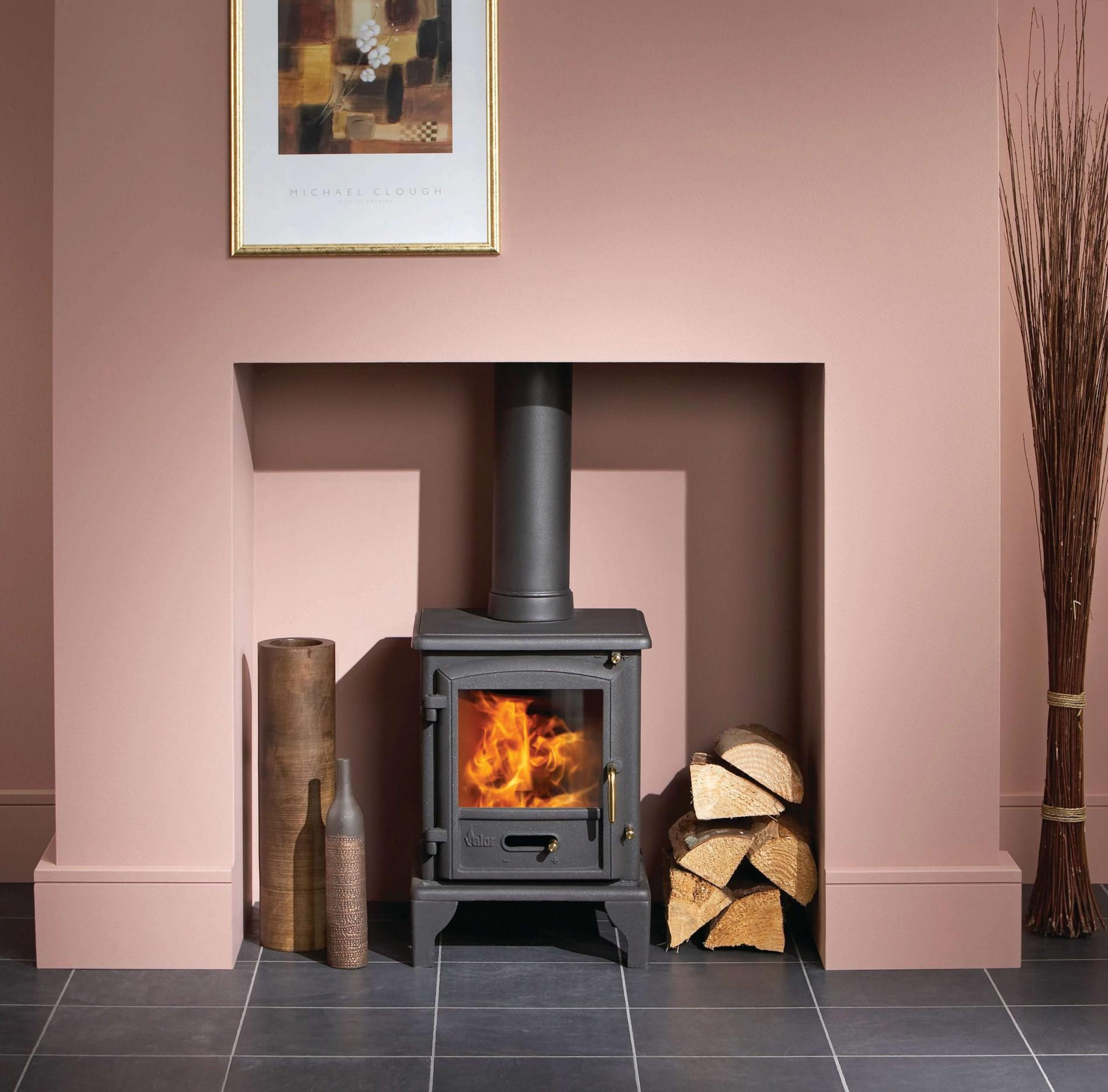 Brunswick solid fuel stove