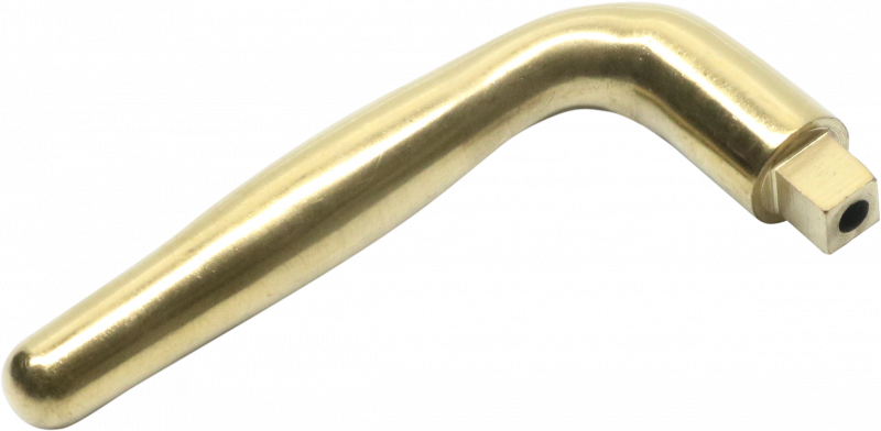 D11C010-B-DOOR HANDLE-PVD BRASS
