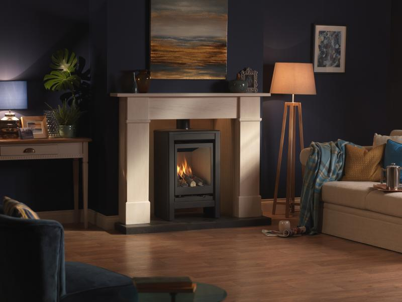 Valor Inspire Medium Stove Lifestyle right angle.jpg