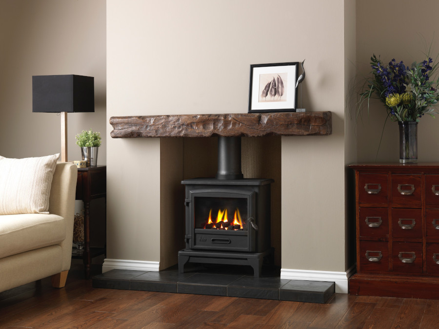 Valor Ridlington Gas Stove room scene